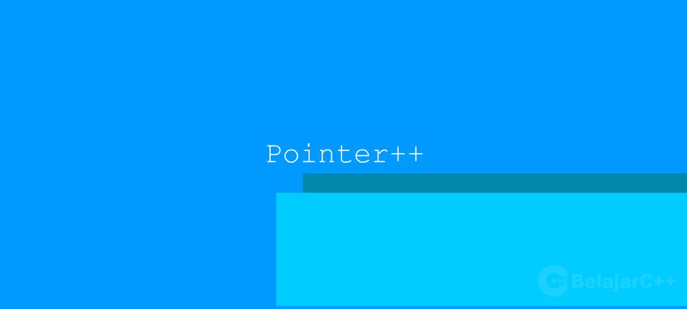 Aritmetika pada Pointer