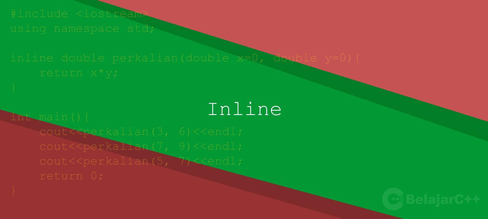 Fungsi Inline pada Function