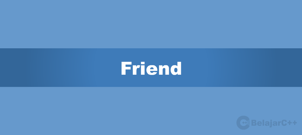 Friend keyword