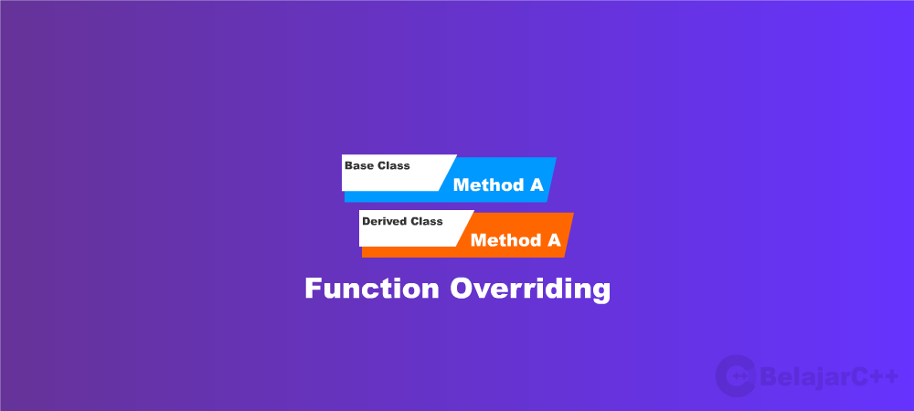 function overriding