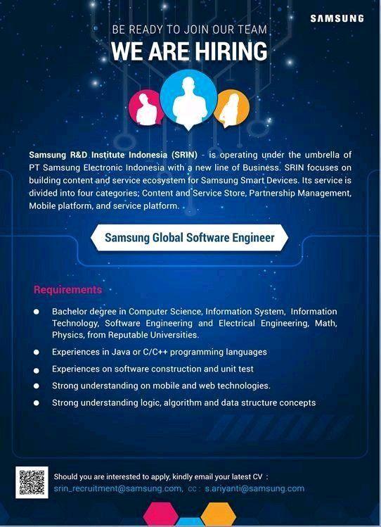 Samsung Global Software Engineer